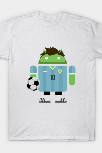 Soccer   Android T-Shirt