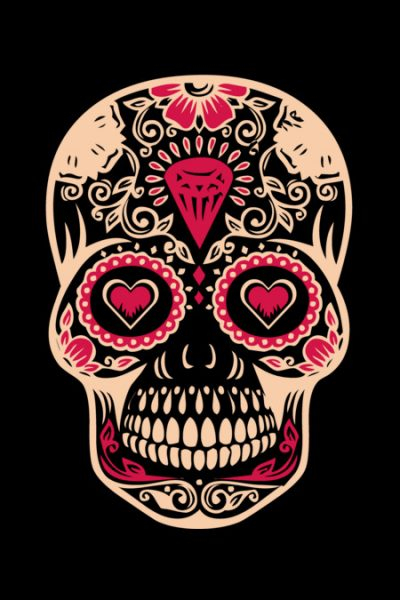 Calavera T Shirt By Rock3tman Design By Humans