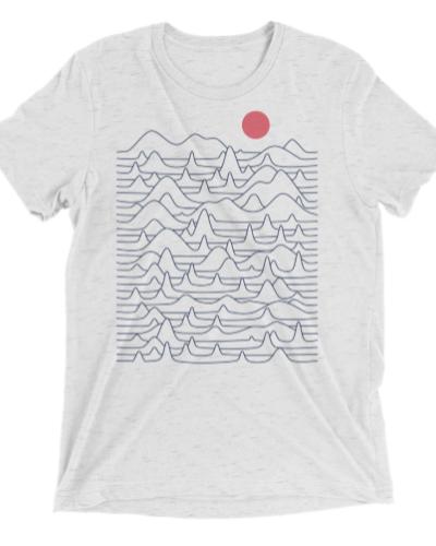 Mountains & Waves T-shirt