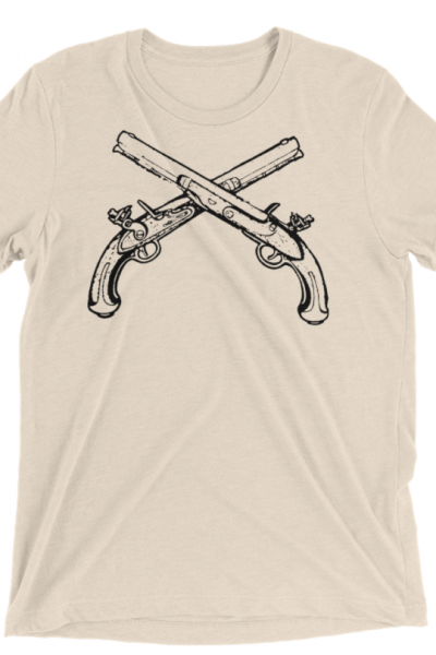 Old Pirate Pistols T-shirt