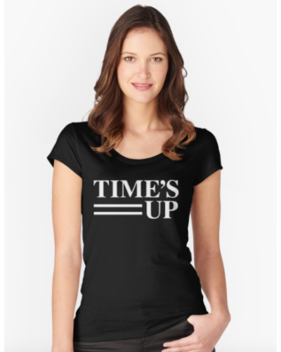 Time's Up t-shirt