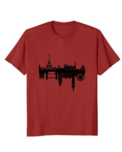 Paris to London – T-Shirt Mens & Womens Sizes