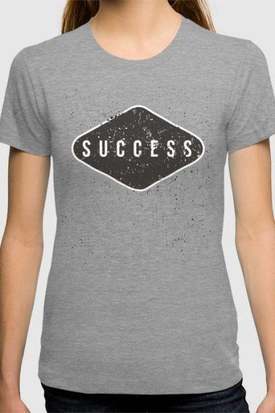 Success Black Diamond T-shirt by pabrimel
