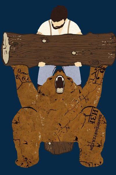 Bear Spotting Men's Graphic Tee