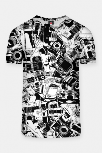 Shutterbug T-shirt, Live Heroes