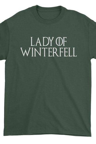 Lady Of Winterfell Mens T-shirt