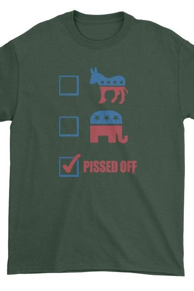 P-ssed Off Voter Mens T-shirt