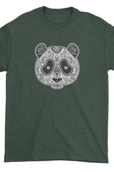 Panda Mandala Mens T-shirt