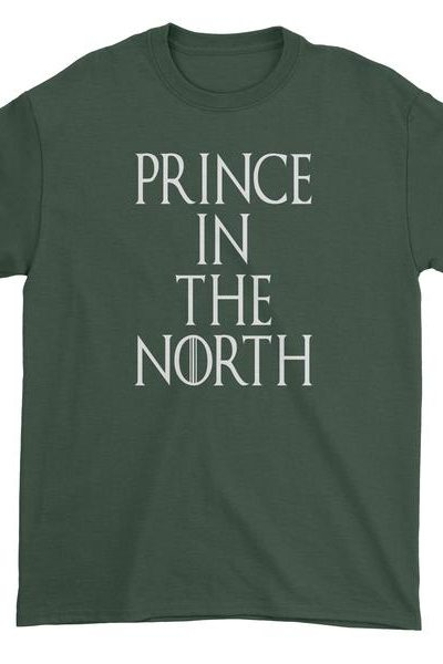 Prince In The North Mens T-shirt