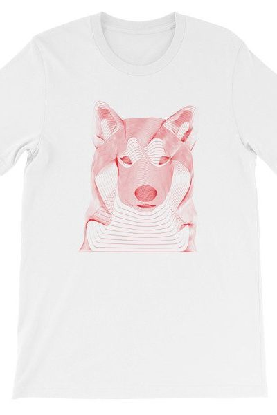 T-SHIRT WHITE   RED DOG   RÉSONANCE