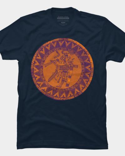 Mayan Artifact Art t-shirt