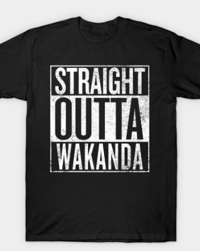 Black Panther – Straight Outta Wakanda T-Shirt