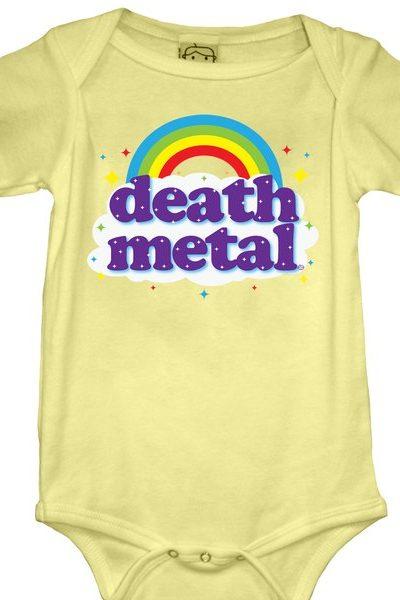 Death Metal Baby Onesie