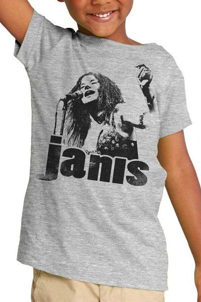 Janis Joplin Sings Bootleg Toddler T-Shirt
