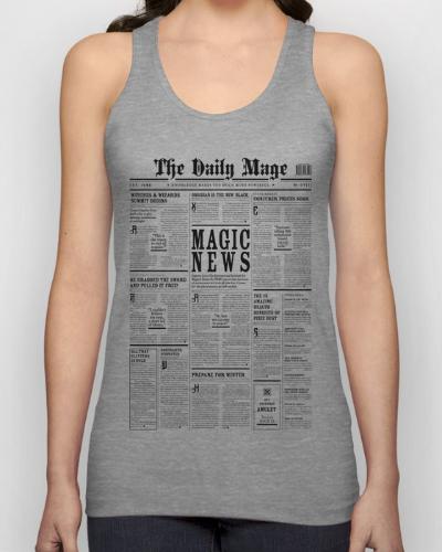 The Daily Mage Magic Fantasy Newspaper