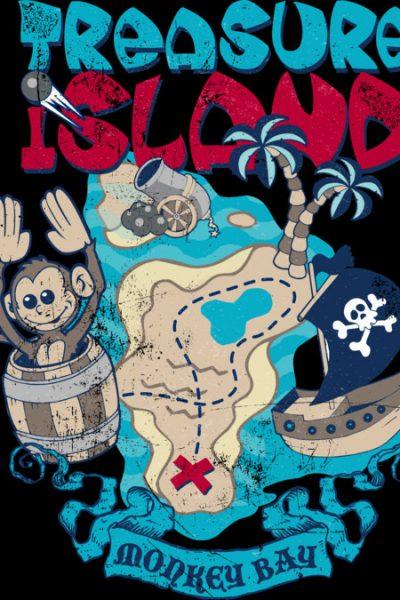 Treasure Island T Shirt By Tshirtevolution Design By Humans