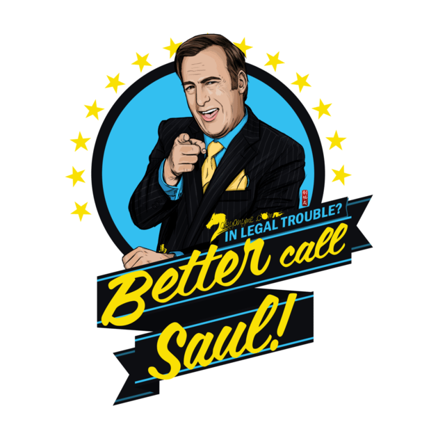 Top 15 Better Call Saul t-shirts
