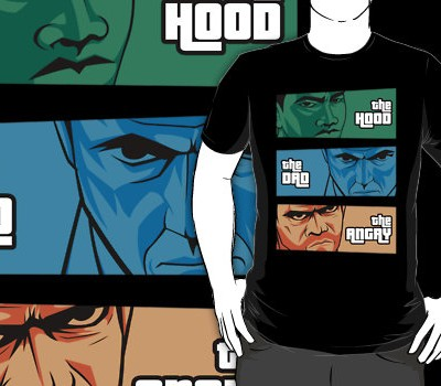 the Hood, the Dad, the Angry