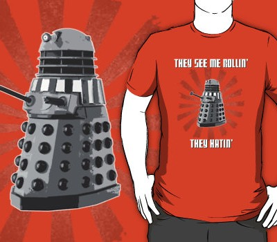 Doctor Who – Dalek – Exterminating Dirty