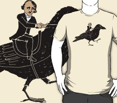 Edgar Allan Poe and Raven