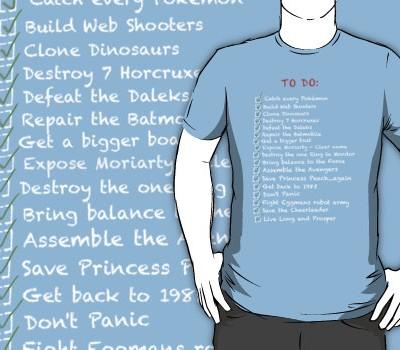 """""""To do List"""" T-shirt"""