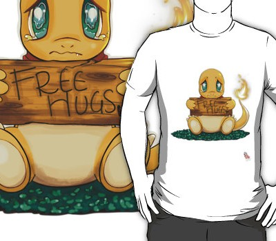 Charmander Free Hugs