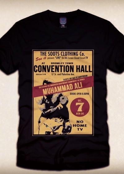 Muhammad Ali 1960 Retro Poster T-shirt