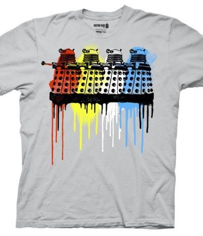 Dr. Who Rainbow Daleks