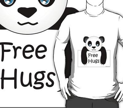 Free Hugs Panda