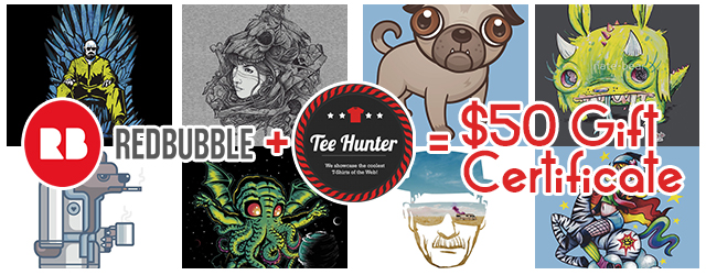 Giveaway: FREE T-Shirts Sponsored by Redbubble
