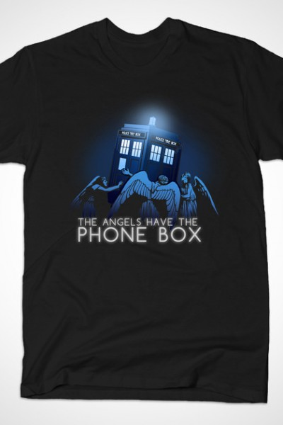 Doctor Who – The Angels have the Phone Box