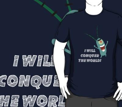 Plankton: I Will Conquer the World