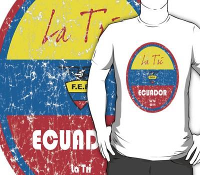Fifa 2014 – Ecuador T-Shirt
