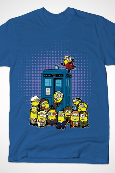 Minions in Time and Space