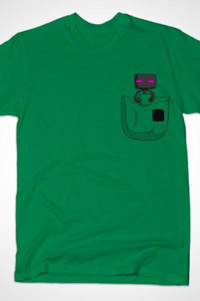 Minecraft Pocket Enderman T-Shirt