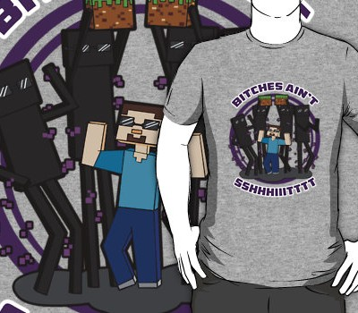 Minecraft RooSter Teeth T-Shirt