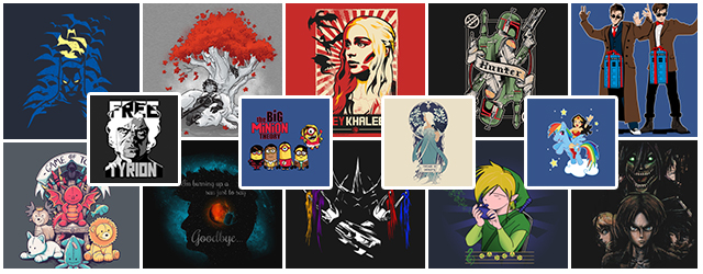 Giveaway: FREE T-Shirts from Teepublic