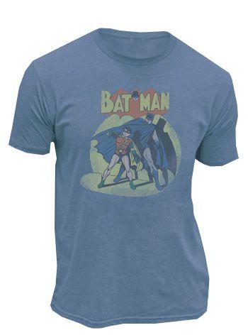Batman and Robin in the Spotlight