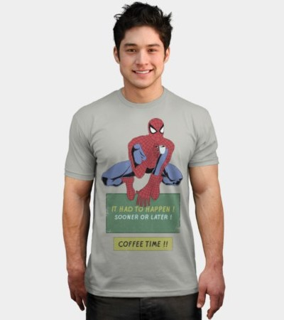 Spiderman – Coffee Time