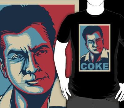 Charlie Sheen – Coke