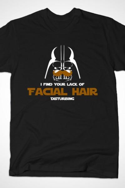 You Lack Facial Hair