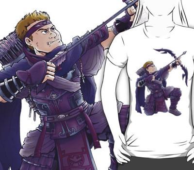 Hawkeye – Ninja Style