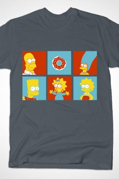 The Simpsons Pop Art