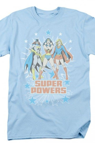 Super Powers – Bat Girl, Super Girl and Wonder Woman