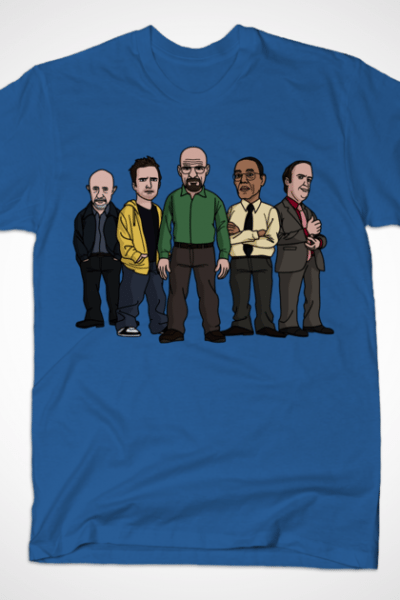 The Five of Breaking Bad