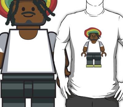 Lego Rastafarian