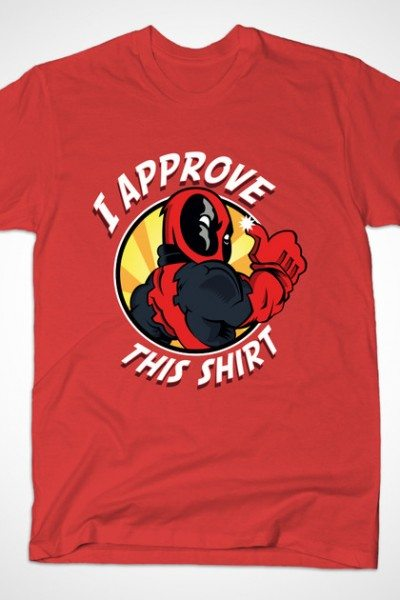 Deadpool Approves This T-Shirt