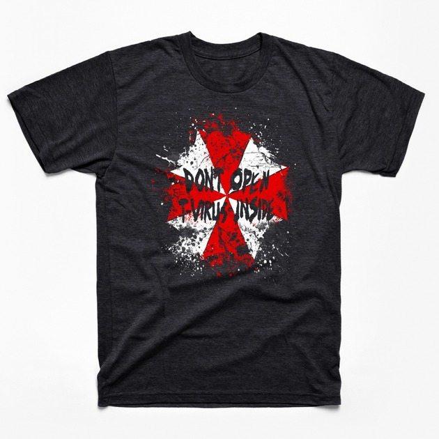 Don't Open! T-Virus Inside!