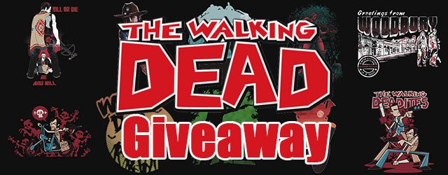 Walking Dead Giveaway – $50 Gift Card from Redbubble