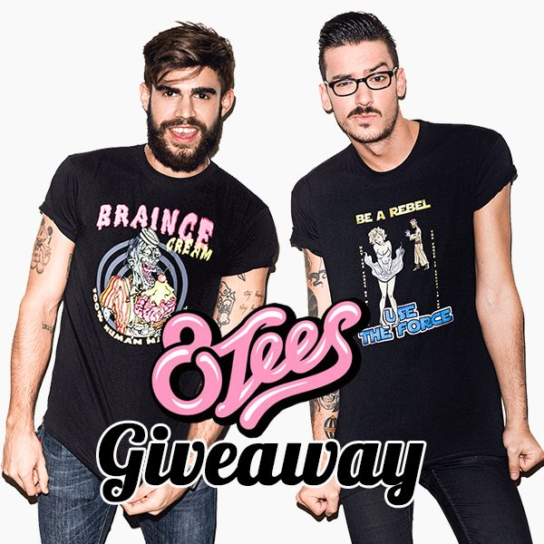 Design Your Own Swag Contest Ends Today: Welcome 8tees.com